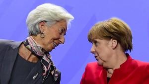 IWF-Chefin: Harter Schuldenschnitt für Athen jetzt nicht nötig