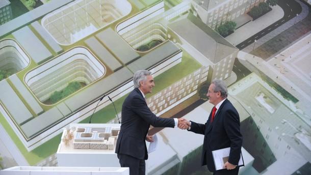 Siemens baut sich den Palast der Zukunft