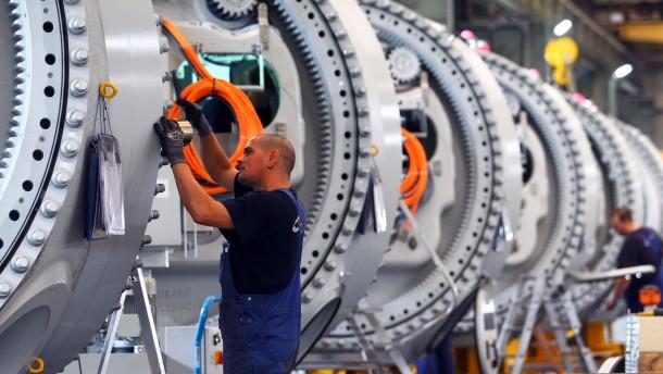 Maschinenbauer bleiben zuversichtlich