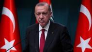 Der mächtige Mann der Türkei: Staatspräsident Erdogan