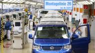 VW und IG Metall einig über Tariferhöhung