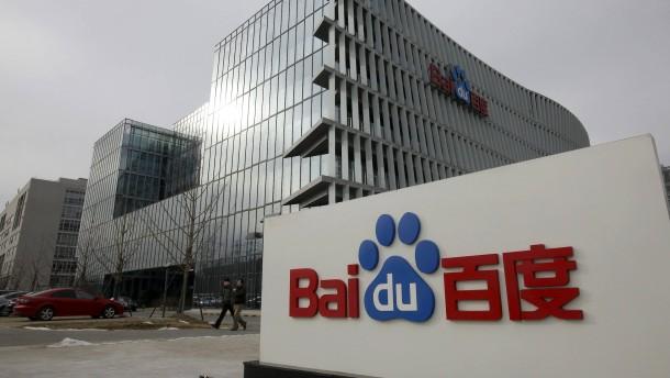 Chinas Baidu fordert das Silicon Valley heraus
