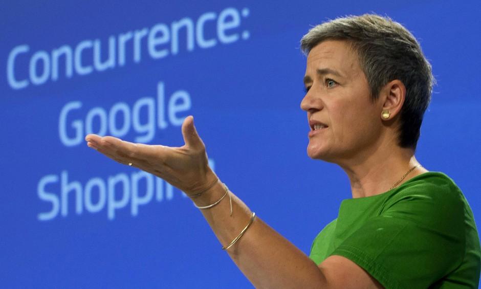 """EU-Wettbewerbskommissarin Vestager: """"Was Google getan hat, ist illegal""""."""