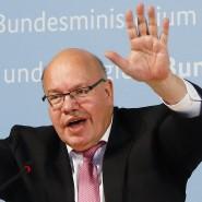 Erklärt den Einstieg in Curevac: Wirtschaftsminister Peter Altmaier (CDU) an diesem Montag während der PK