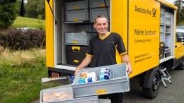 Wenn die Post Lebensmittel liefert