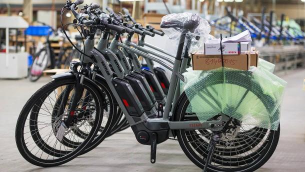 Zahl der Elektro-Fahrräder hat sich verdreifacht