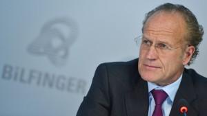 Bilfinger-Chef tritt überraschend zurück