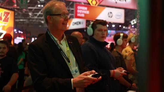 Axel Voss auf der Gamescom