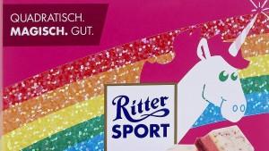 Ritter Sport erlebt Einhorn-Magie