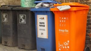 Mehr recyceln, bitte!