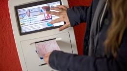 Der Geldautomat, der Medikamente bringt
