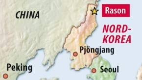 Karte / Nordkorea