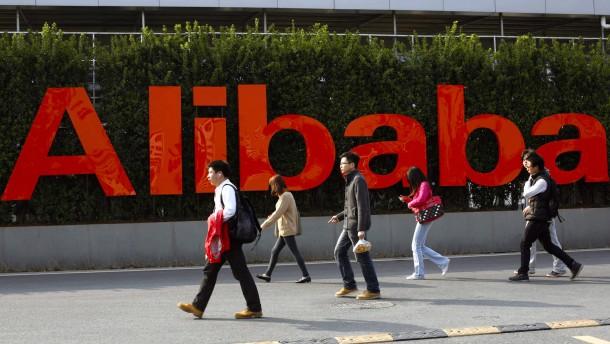 Alibaba wächst stärker - der Gewinn bricht ein
