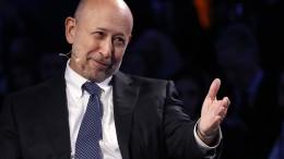 Der Goldman-Chef findet Frankfurt toll