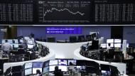 An der Frankfurter Börse dürfte heute gute Stimmung geherrscht haben.