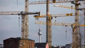 Der unglaubliche Boom der Baubranche