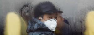 Atemschutzmasken gehören in China zum Alltag.