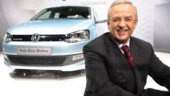 VW-Chef Martin Winterkorn hat derzeit einen guten Lauf