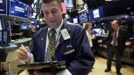 Optimismus allerorten: Händler an der Wall Street.