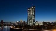 Die EZB in Frankfurt am Main
