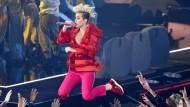 Höhenflug: Popsängerin Kate Perry auf einer Musikveranstaltung in Los Angeles