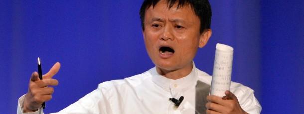 Alibaba-Vorsitzender Jack Ma
