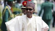 Hat viel zu tun: Nigerias-Präsident Muhammadu Buhari will die Korruption bekämpfen.