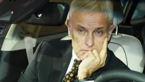 Bei VW ist man mit dem Chef nicht zufrieden