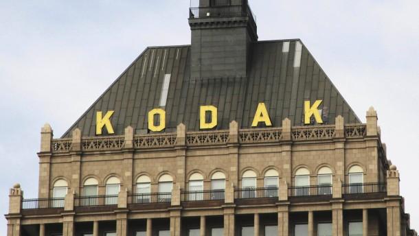 Kodak kommt durch Patentverkauf aus den roten Zahlen
