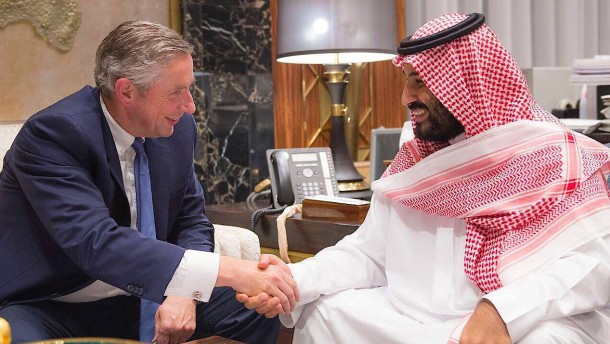 Früherer Siemens-Chef soll jetzt Saudi-Arabien modernisieren