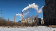 Kohlekraftwerk in Harbin, China