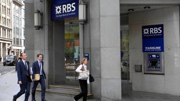 RBS muss hohe Strafe zahlen