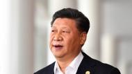 Bekam Gegenwind: Chinas Staats- und Regierungschef Xi Jinping.
