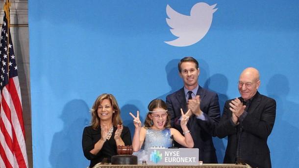 Twitter-Aktie schießt nach oben