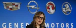 GM-Chefin Mary Barra: Auch der Autobauer kündigt Investitionen in Amerika an.