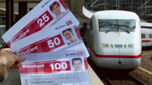 Mit der Bahncard kuenftig auch kostenlos zum Startbahnhof