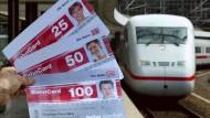 Mit der Bahncard künftig auch kostenlos zum Startbahnhof