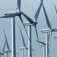 Windräder an der Nordseeküste: Manchmal ist leider Flaute.