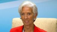 Christine Lagarde ist Chefin des Internationalen Währungsfonds. Im Jahr 2008 war sie noch Wirtschaftsministerin Frankreichs.