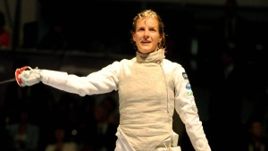 Carolin Golubytskyi gewinnt Silber