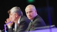 Deckel: Mehr als 9,5 Millionen Euro im Jahr sollen Börse-Vorstände wie Chef Kengeter nicht verdienen