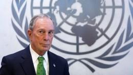 Bloomberg zahlt Amerikas Klimaschutzbeitrag aus eigener Tasche