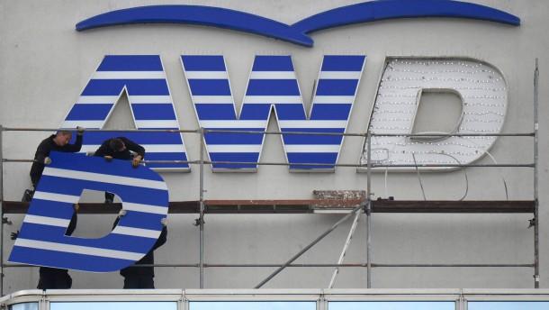Swiss Life prüft Abschied von der Marke AWD