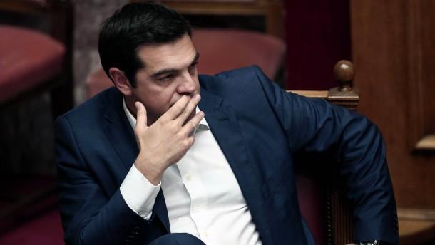 Brief Nach Griechenland Adressieren : Zeit nach tsipras wenn syriza scheitert griechenland faz