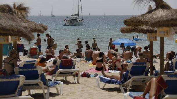 Touristischer Hochbetrieb auf Mallorca hält an