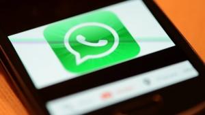 Über Whatsapp kann man bald auch telefonieren