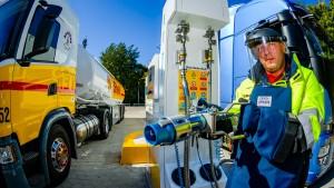 Erste deutsche Tankstelle für Flüssiggas eröffnet