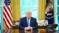 Donald Trump ist unzufrieden mit vielen Dingen.