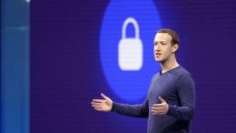 Mark Zuckerberg entdeckt die Privatsphäre