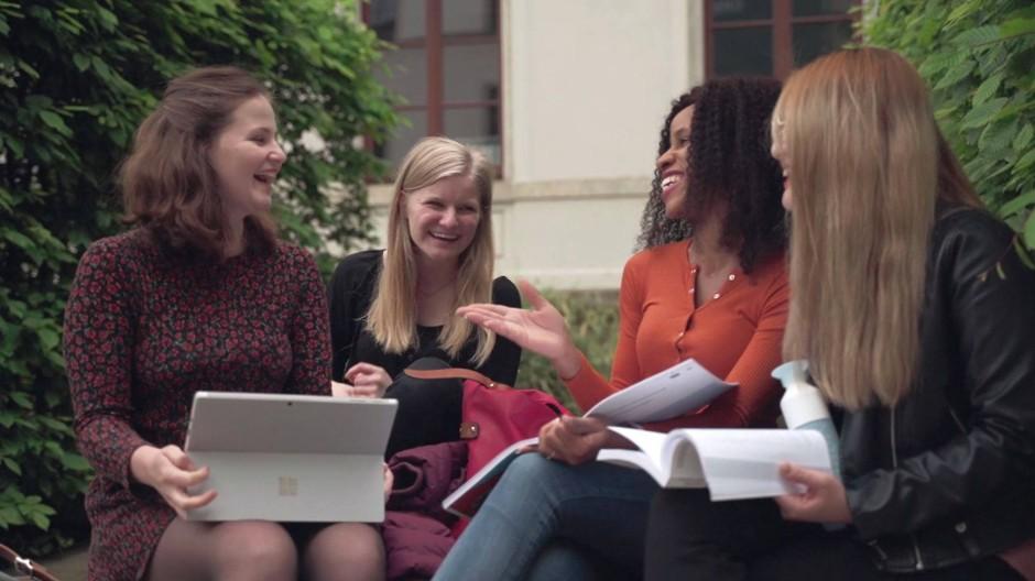 Sächsische Willkommenskultur: Das Patenprogramm der TU Chemnitz gilt sogar als vorbildlich.